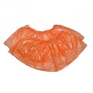 Оранжевые стандартные бахилы