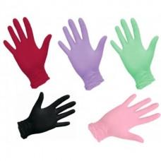 Перчатки нитриловые цветные Sitek Med / Benovy